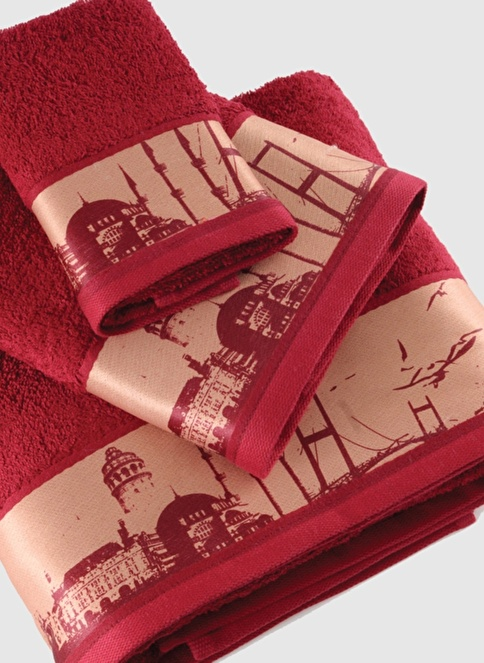 İrya Banyo Havlusu Kırmızı